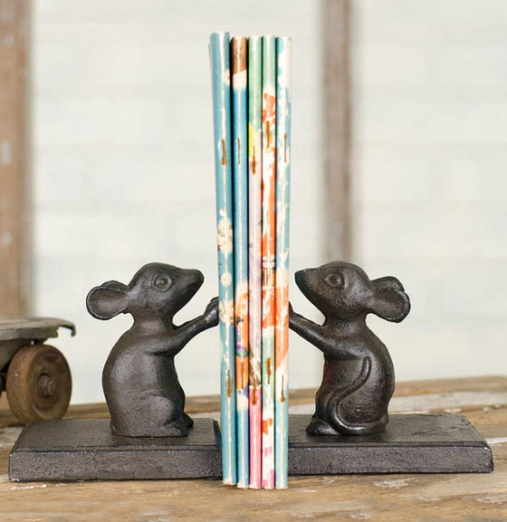 Little Mouse Bookend - The Painted Porch Co
