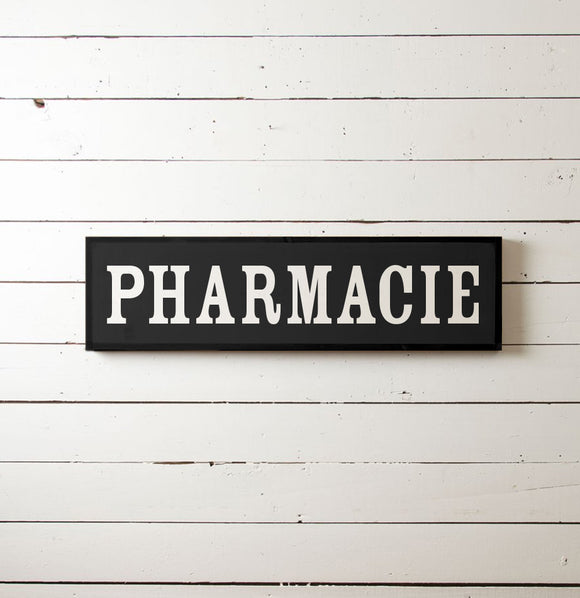 Pharmacie Wall Sign - The Painted Porch Co