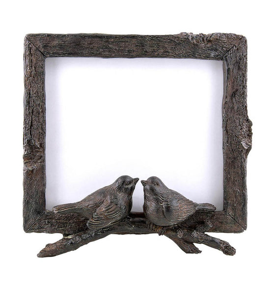 Rustic Bird Picture Frame - The Painted Porch Co
