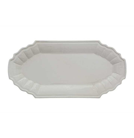 Large Cream Platter - The Painted Porch Co