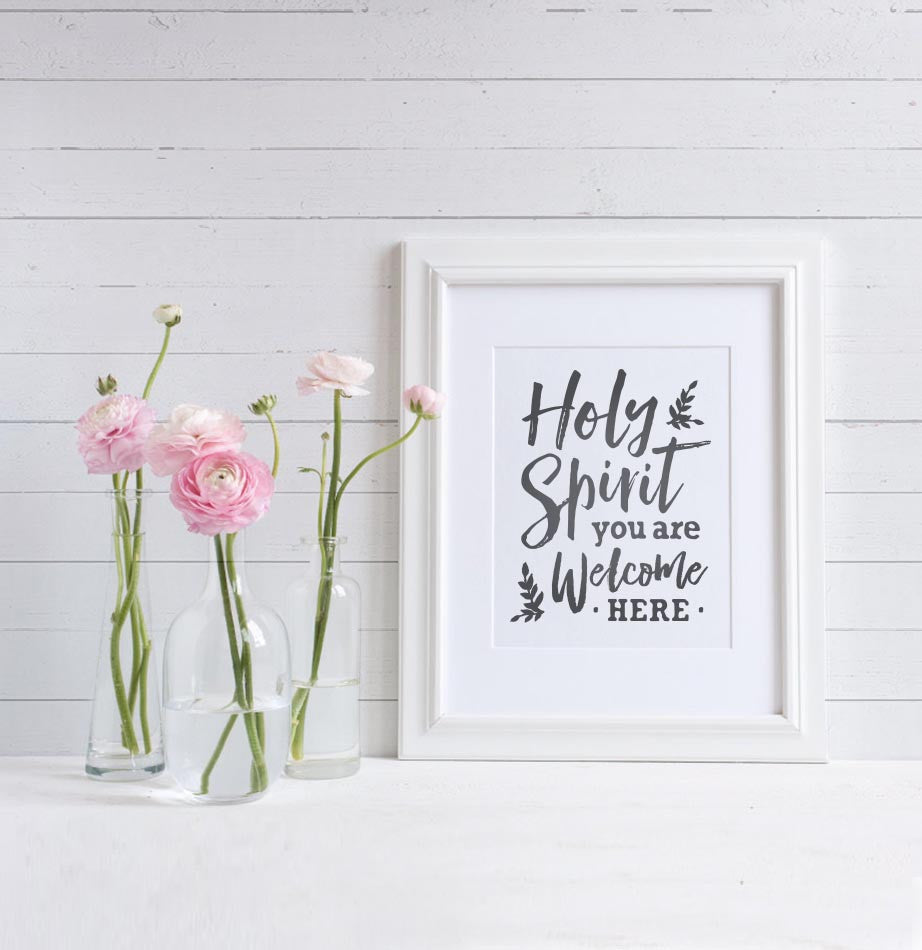 Holy Spirit Art Print - The Painted Porch Co