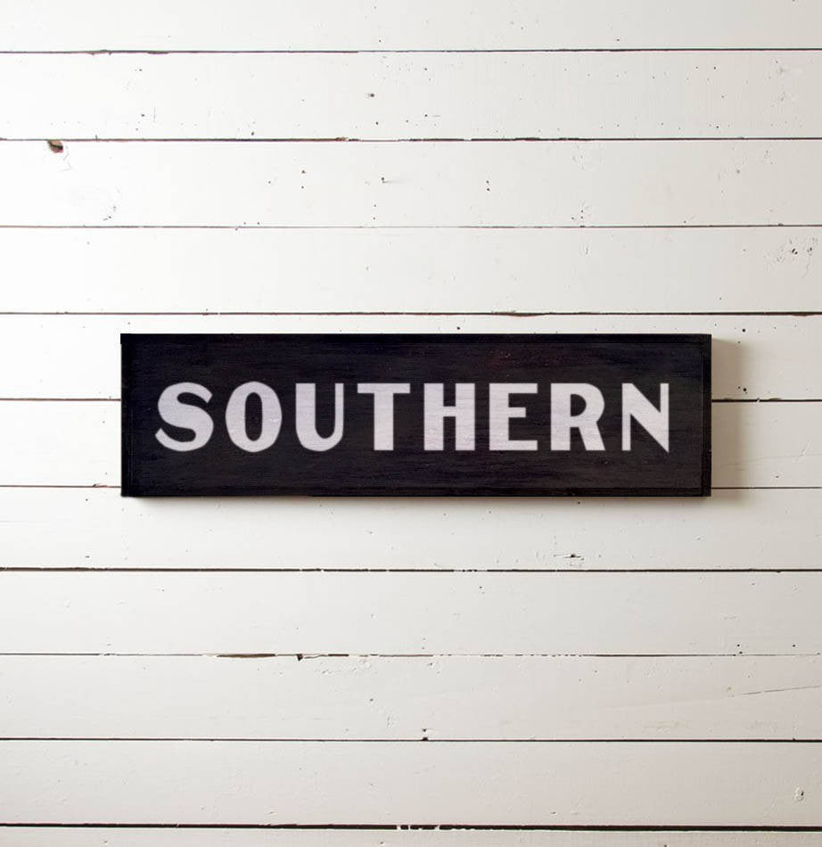 """SOUTHERN"" Wall Sign - The Painted Porch Co"