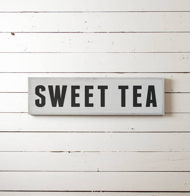 Sweet Tea Wall Sign - The Painted Porch Co