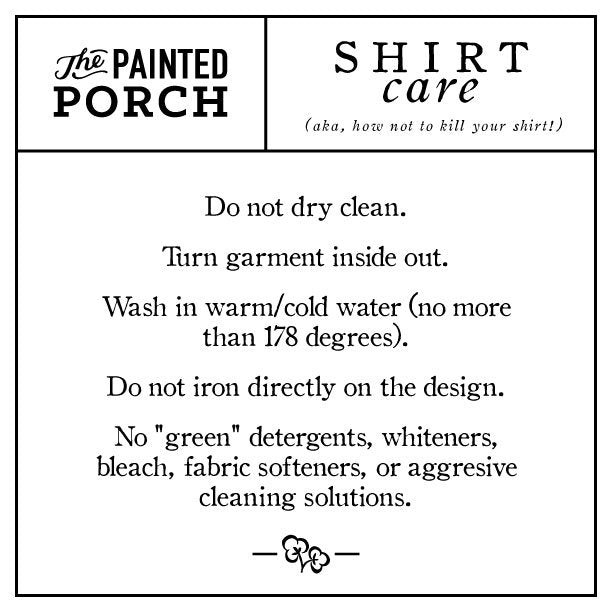 Farmhouse Favorite Things Shirt - The Painted Porch Co