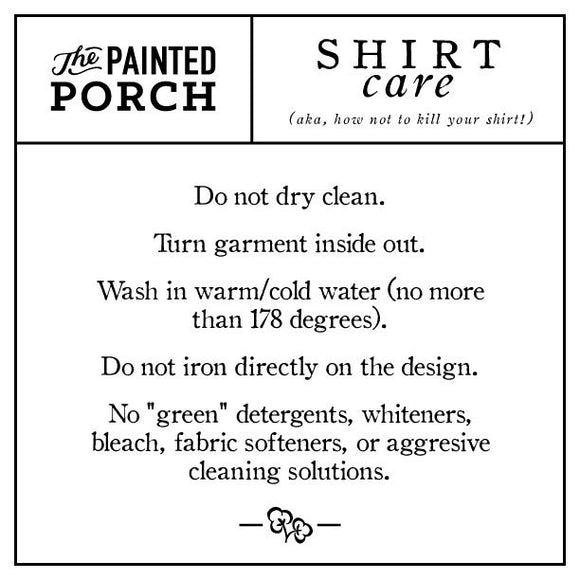 Junk Shirt - The Painted Porch Co
