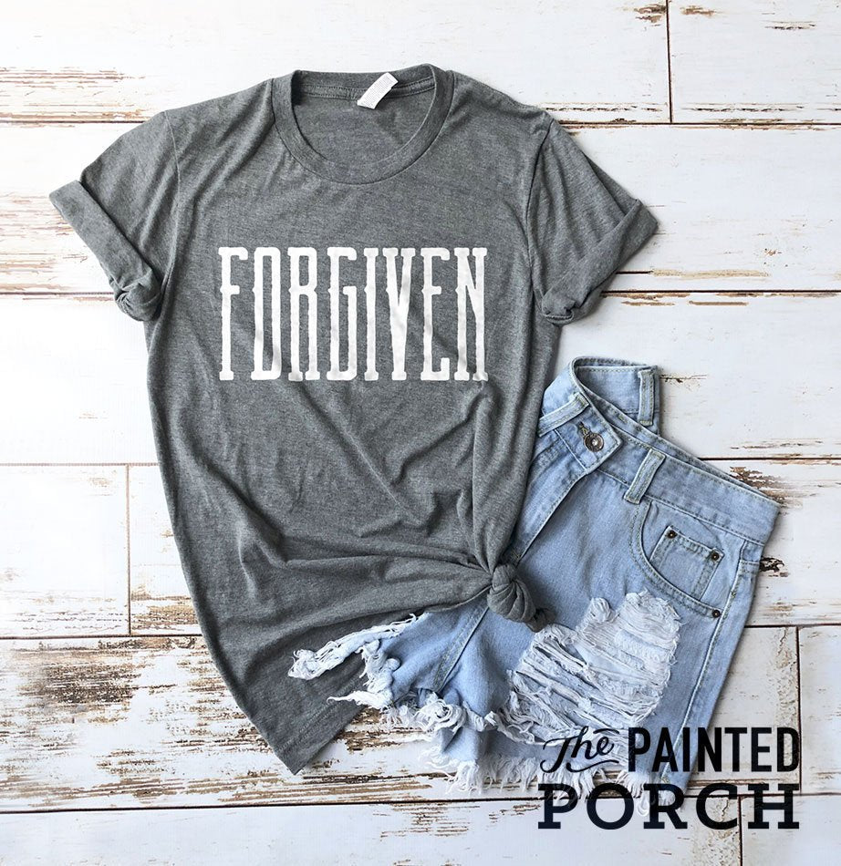 Forgiven Shirt - The Painted Porch Co