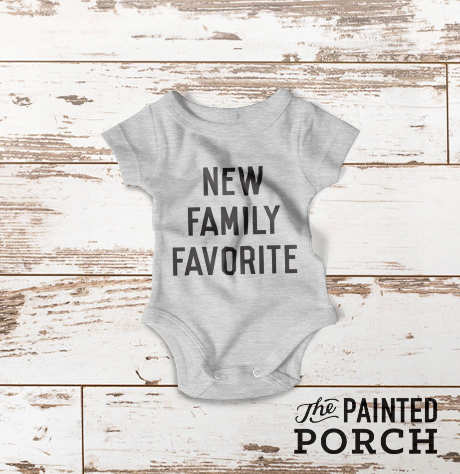 Family Favorite Baby Onesie - The Painted Porch Co
