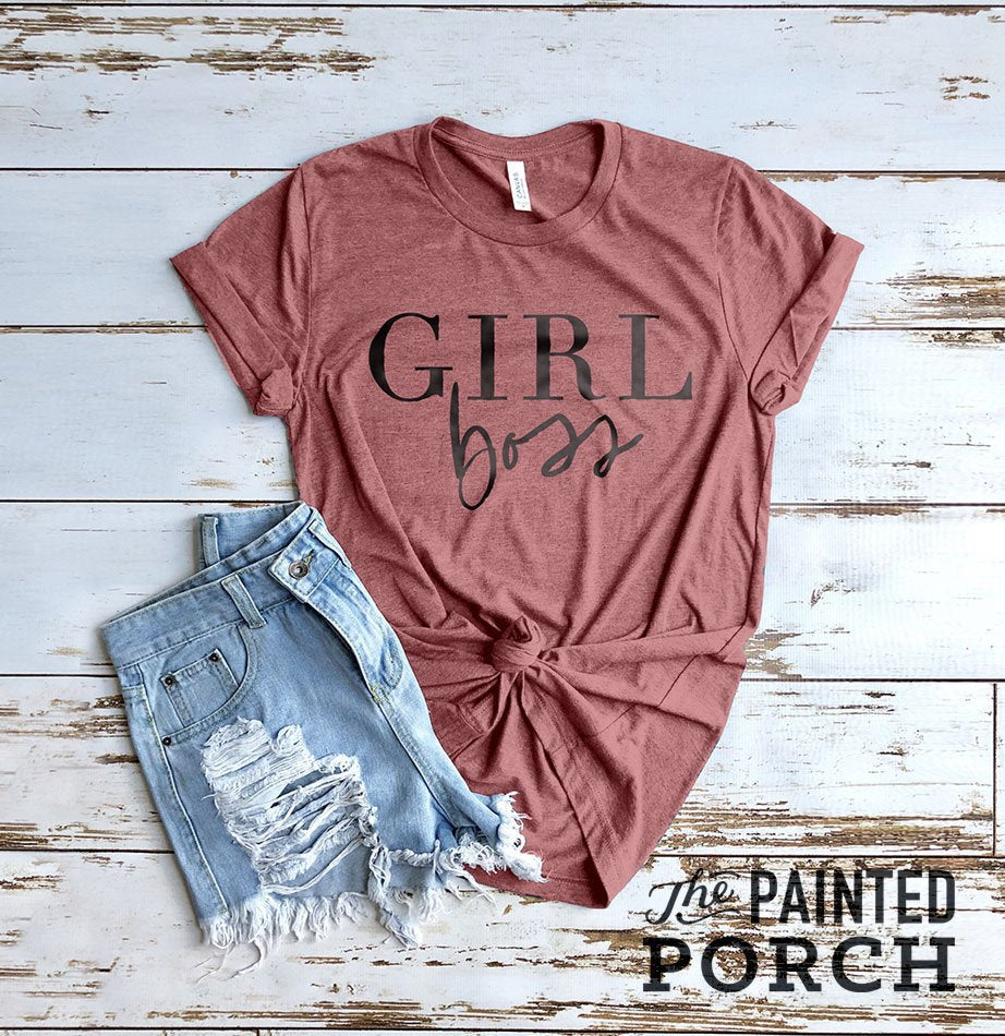 Girl Boss Shirt - The Painted Porch Co