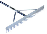 "Seymour/Midwest 36"" Landscape Rake professional quality for leveling and grading yard and garden soils."