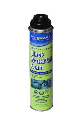 Black Waterfall Foam - Professional 24 oz. can
