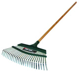 Seymour/Midwest Pro-Flex Rake for raking and thatching in thick turf.  Great clean-up tool.