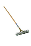 "Seymour/Midwest Thatching Rake - for those hard to reach areas.  20 teeth in a 15"" head."