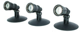 Garden and Pond Spotlights - make your outdoors night friendly - at vlsmt.com!
