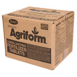 Agriform Fertilizer Tablets sold in bulk cases only.  500/case 20-10-5 fertilizer tabs for planting trees.