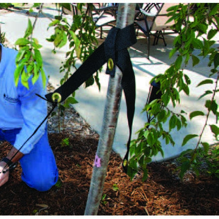 "Tree Slings 32"" for securing your trees.  Sturdy, easy to use, lasting and flexible with tree growth."