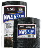 SRW Drainage Fabric - 4 oz. & 4.5 oz. in 6' rolls.