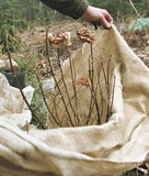 Small & Bulk Burlap Rolls for gardening and landscape projects.  Wrap shrubs, trees, cover rows or create a wind shield.