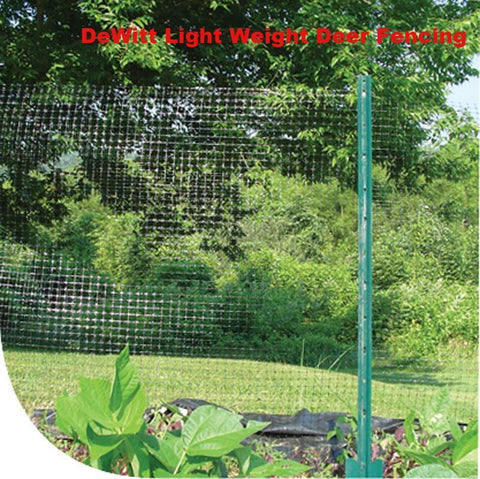 DeWitt Light Duty Deer Fencing - for small areas - in 7' x 350' rolls.  Shipped UPS.