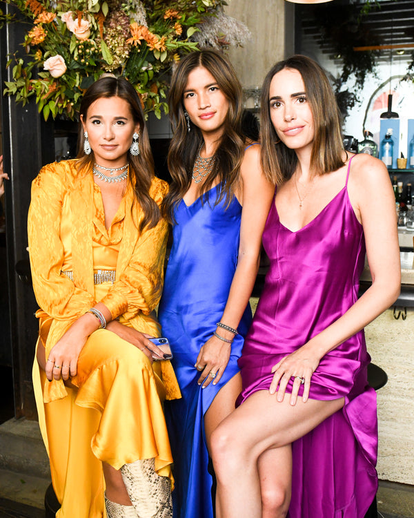 MEET THE SLIP DRESS SISTERHOOD