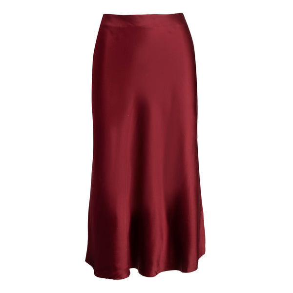 Bordeaux Midi Skirt