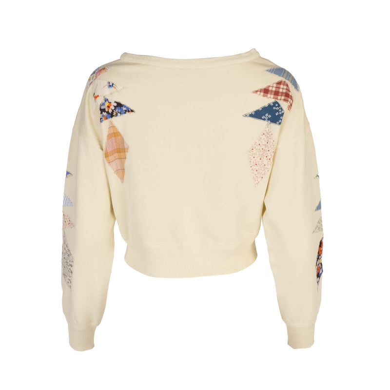Butter Patchwork Sweatshirt