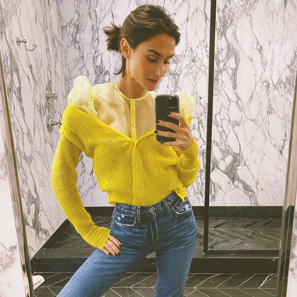 Chloe Top Yellow