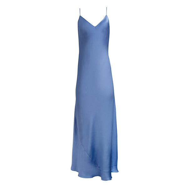 Moonstone Blue Slip Dress
