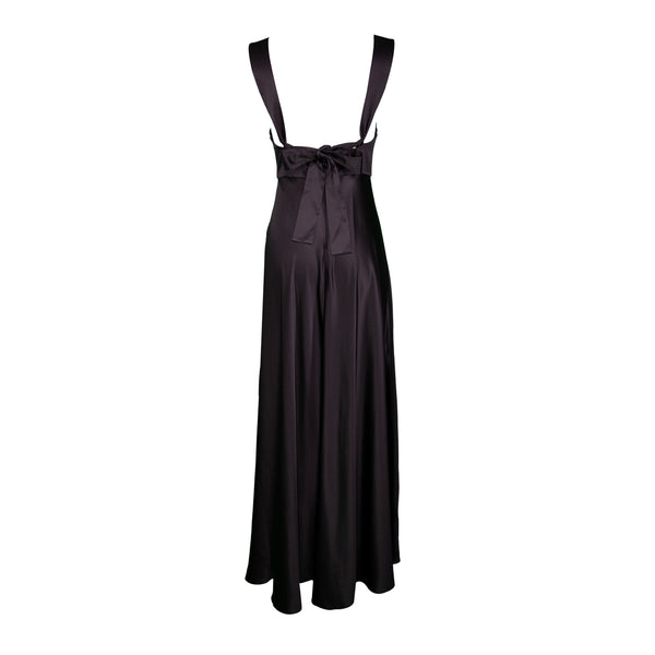 Pintuck Waist Slip Dress