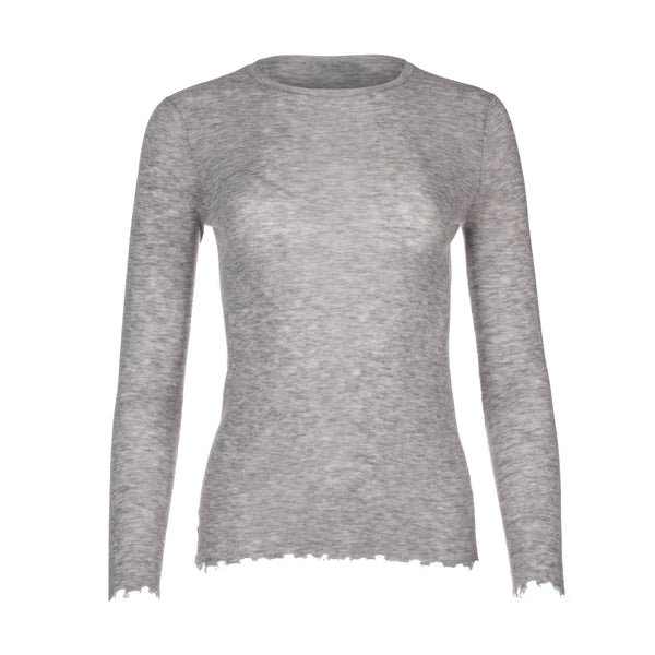 Light Grey Crew Neck