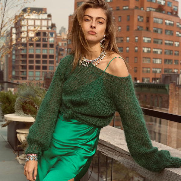 Green Sweater