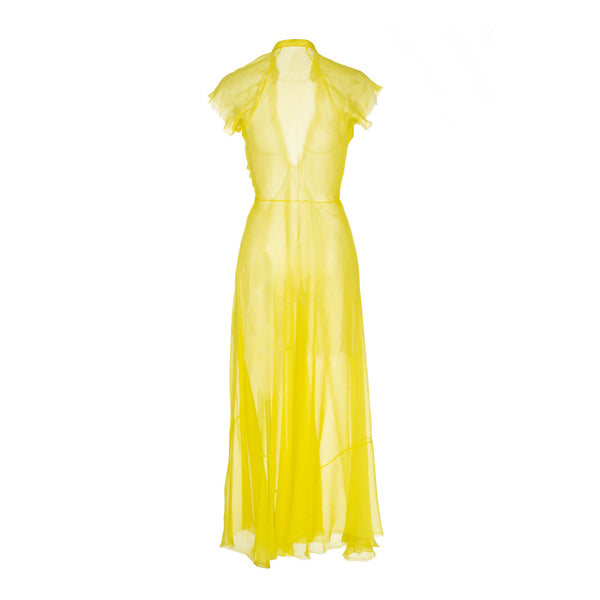 Limon Chiffon Dress