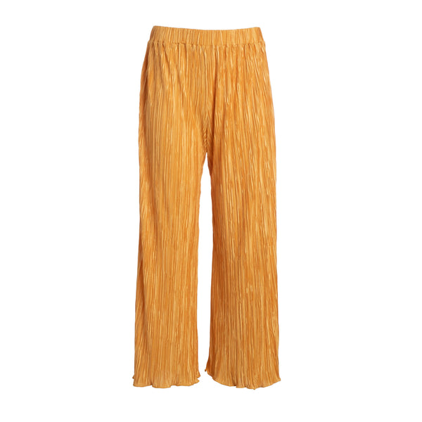 Gold Pleated Culotte