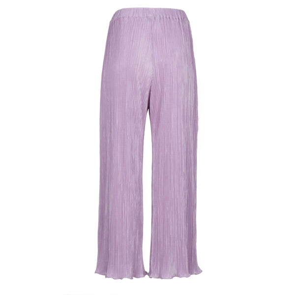 Lilac Pleated Culotte
