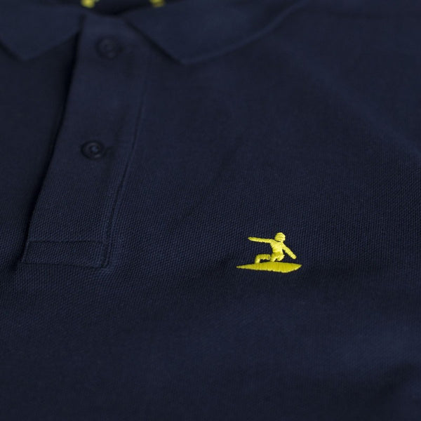 Parlementia Mens Navy Polo Shirt