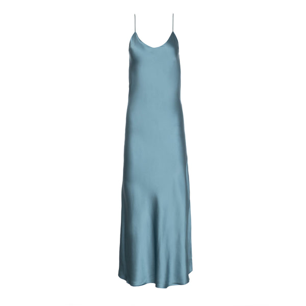 Aegean Silk Slip Dress