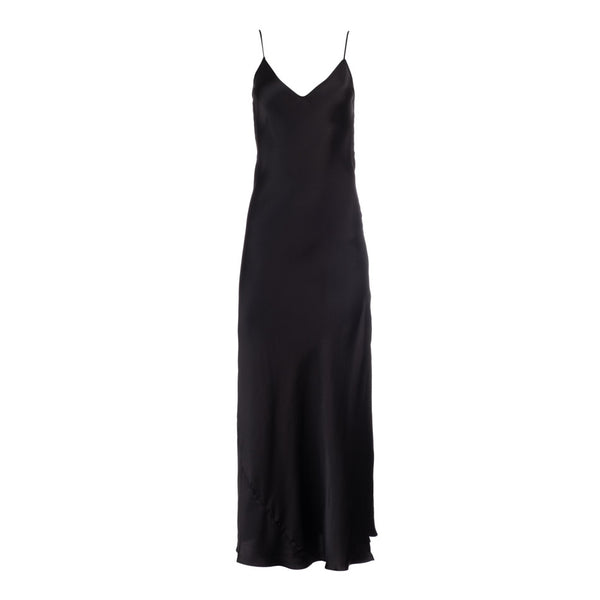 True Black Slip Dress