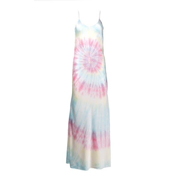 Multi Tie Dye Slip Dress