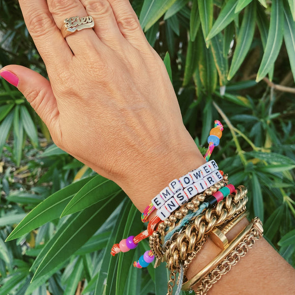 Empower and Inspire Bracelet Set