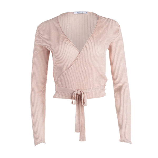 Wrap Ballet Cardigan Light Pink