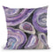 Circle Rain V2 Throw Pillow By Albena Hristova