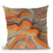 Floating Lava Throw Pillow By Albena Hristova