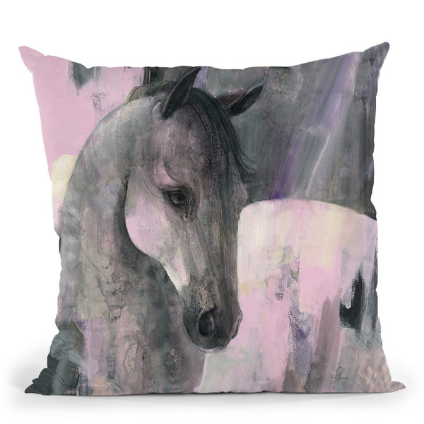 Gallant Throw Pillow By Albena Hristova
