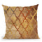 Gilded Rockin Moroccan Throw Pillow By Albena Hristova