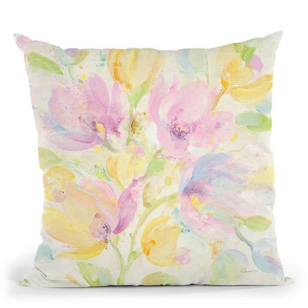Its Spring Throw Pillow By Albena Hristova