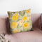 Poppy Garden I Yellow Flowers Throw Pillow By Albena Hristova
