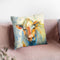 Happy Cows Ii Throw Pillow By Albena Hristova