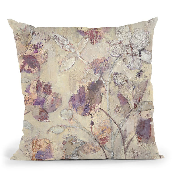 Silver Delight Ii Throw Pillow By Albena Hristova