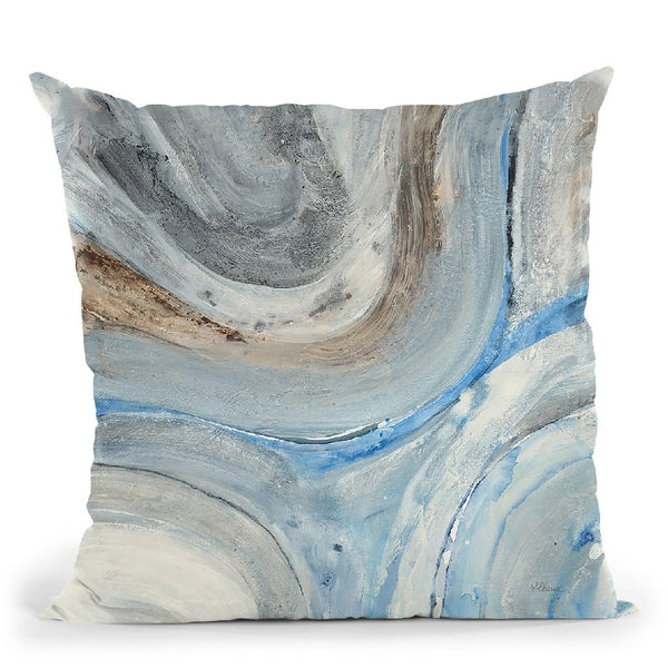 Estuary Throw Pillow By Albena Hristova