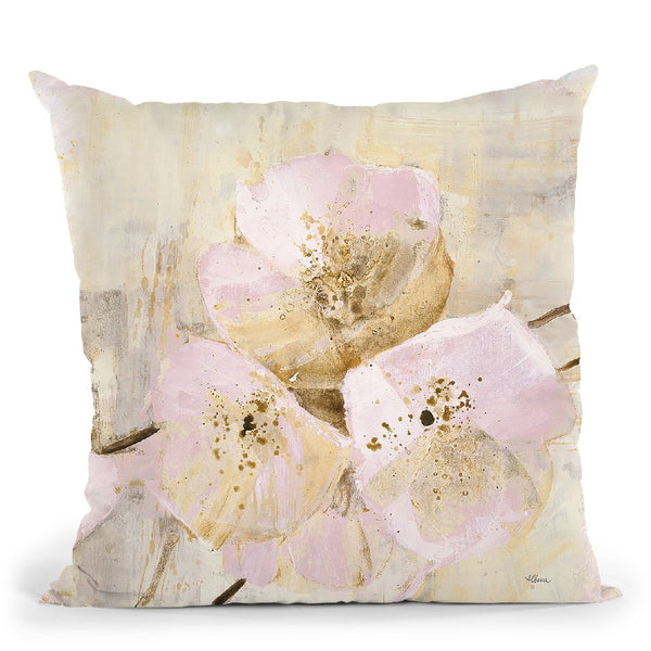 Elegance Iii Pink Throw Pillow By Albena Hristova