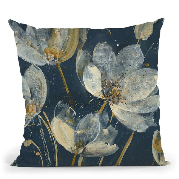 Translucent Garden Throw Pillow By Albena Hristova